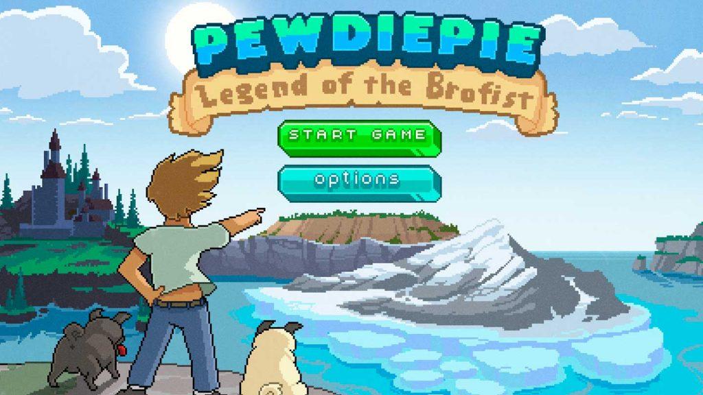 Pewdiepie: Legend of the Brofist, Kid Friendly Let's Play YouTube Videos