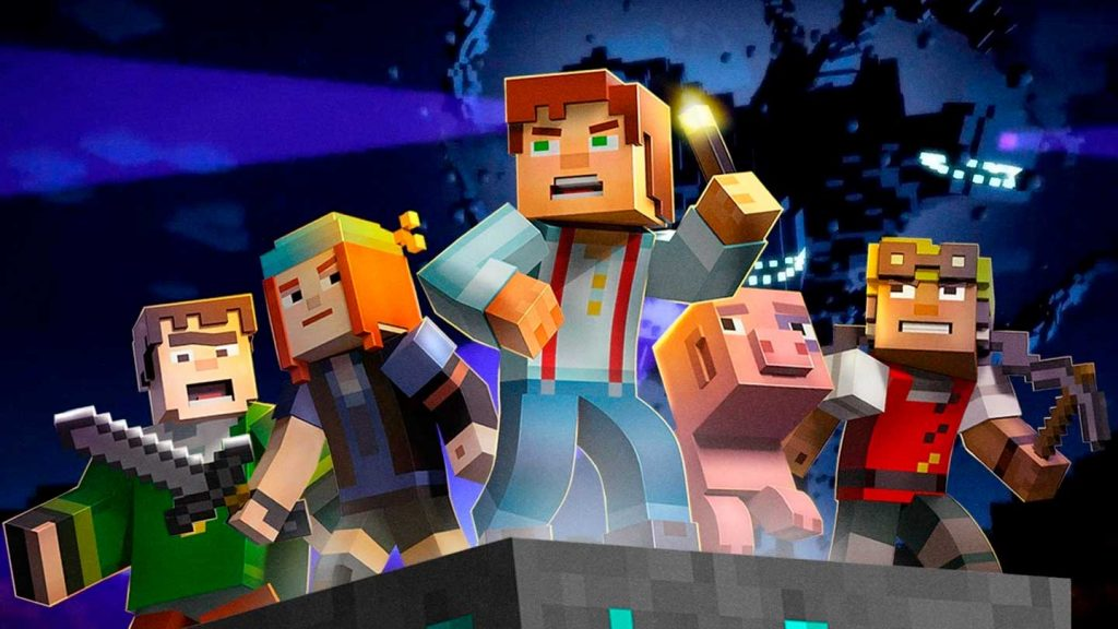 Minecraft Story Mode Season 1 - Kid Friendly Let's Play YouTube Videos